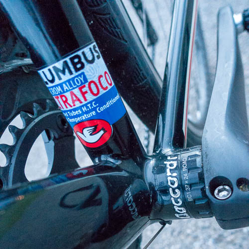 Light steel and a threaded bottom bracket are a refreshing change