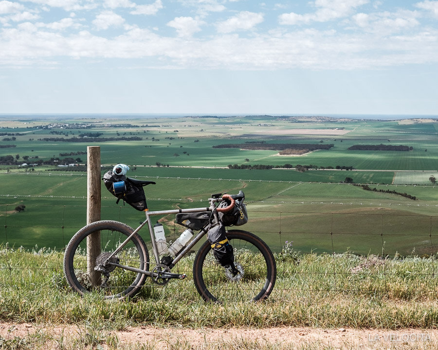 My trusty Bossi Grit adventure steed is the most abused review bike I've ever had!