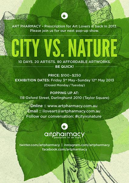 City Vs Nature Art Pharmacy Pop Up Show
