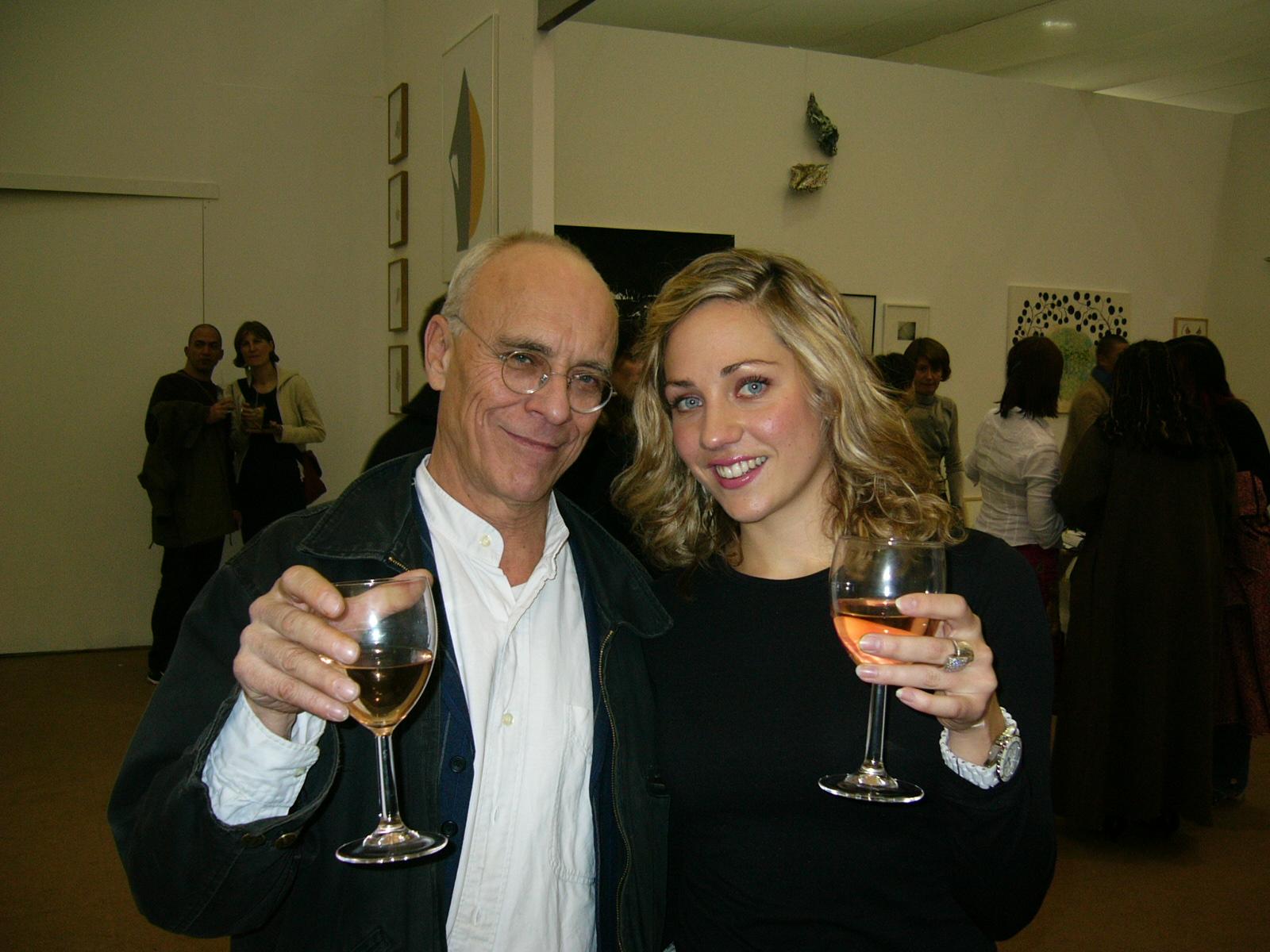 Meeting John Dunbar, at The Frieze Art Fair, 2004