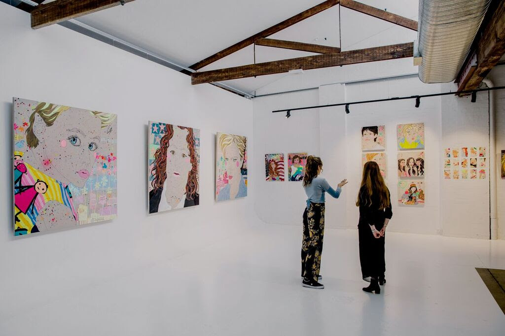 Sarah Beetson's current exhibition 'Rainbow Warriors'