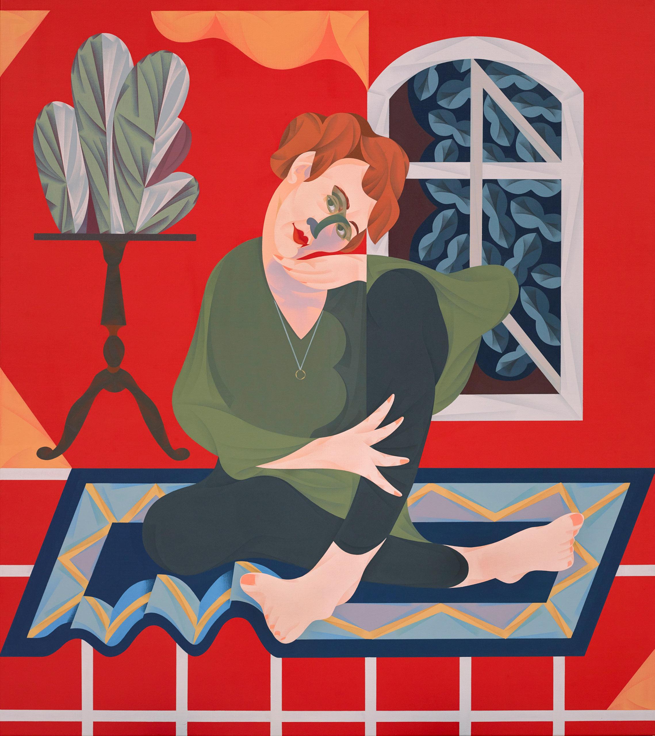 Mitch Cairns, 'Agatha Gothe-Snape', 2017 (Archibald 2017 winner)