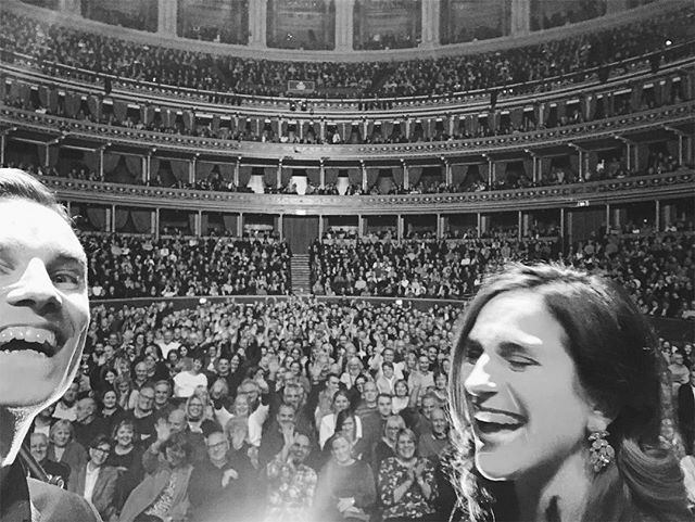 What a way to finish the year! Thank you @jools.holland.official for having us open for you at @royalalberthall tonight!