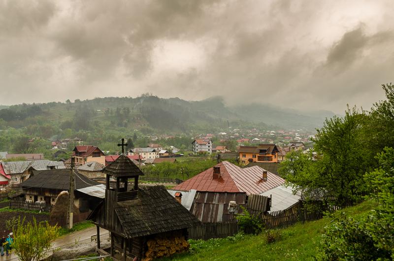 Manastirea Corbii de Piatra panorama