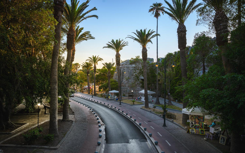 Drumul de intrare in Capitala Kos