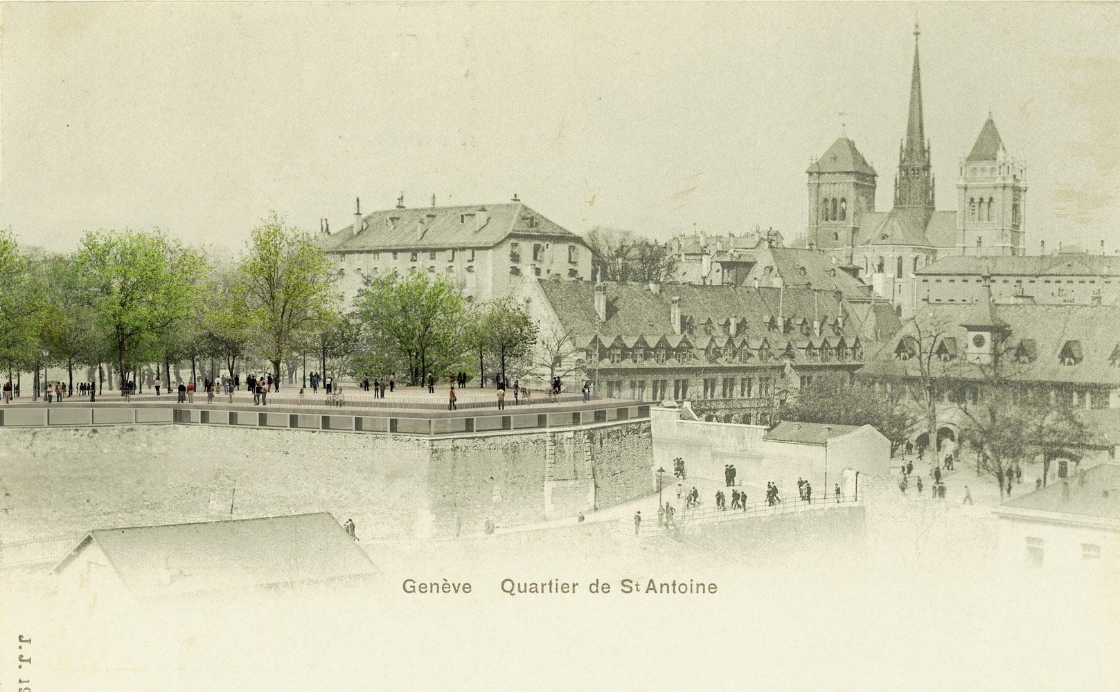 Bastion Saint-Antoine_Geneve_Switzerland