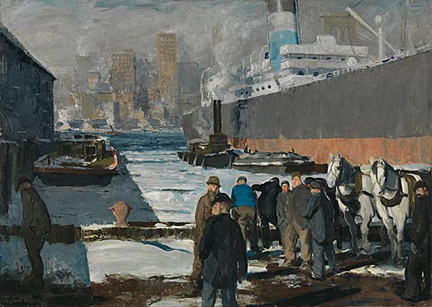 Men of the Docks, 1912 George Bellows (1882-1925)Oil on canvas, 114.3 x 161.3cm
