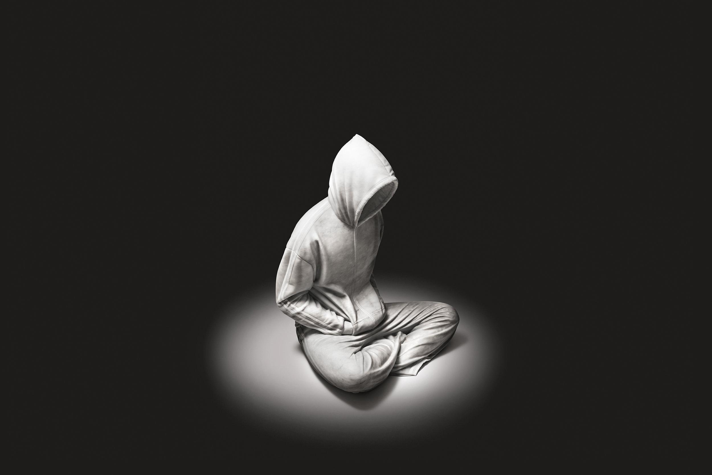 Soloist   2012 Bianco Carrara marble 95 x 75 x 70 cm