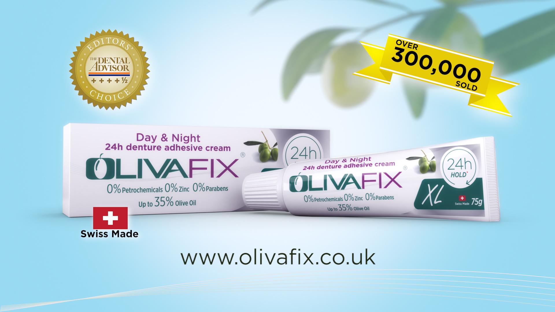 Olivafix DRTV commercial