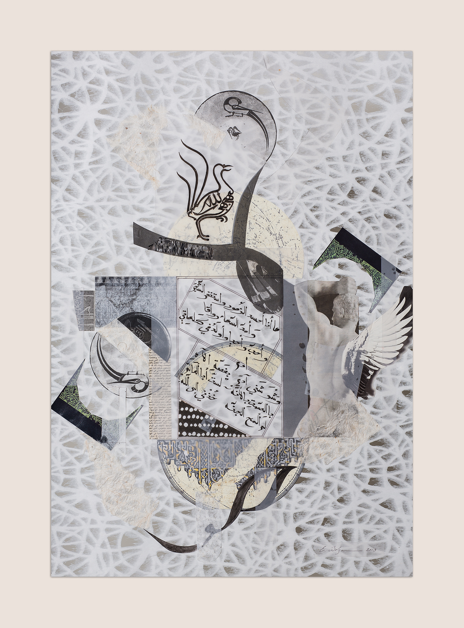 Adonis   Private Collection Seville, Spain  Paper, Chinese ink and pencil on paper 49 x 71 cm 2013