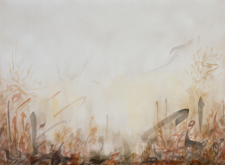 Voyage   Watercolour on paper 40 x 29.5 cm 2012