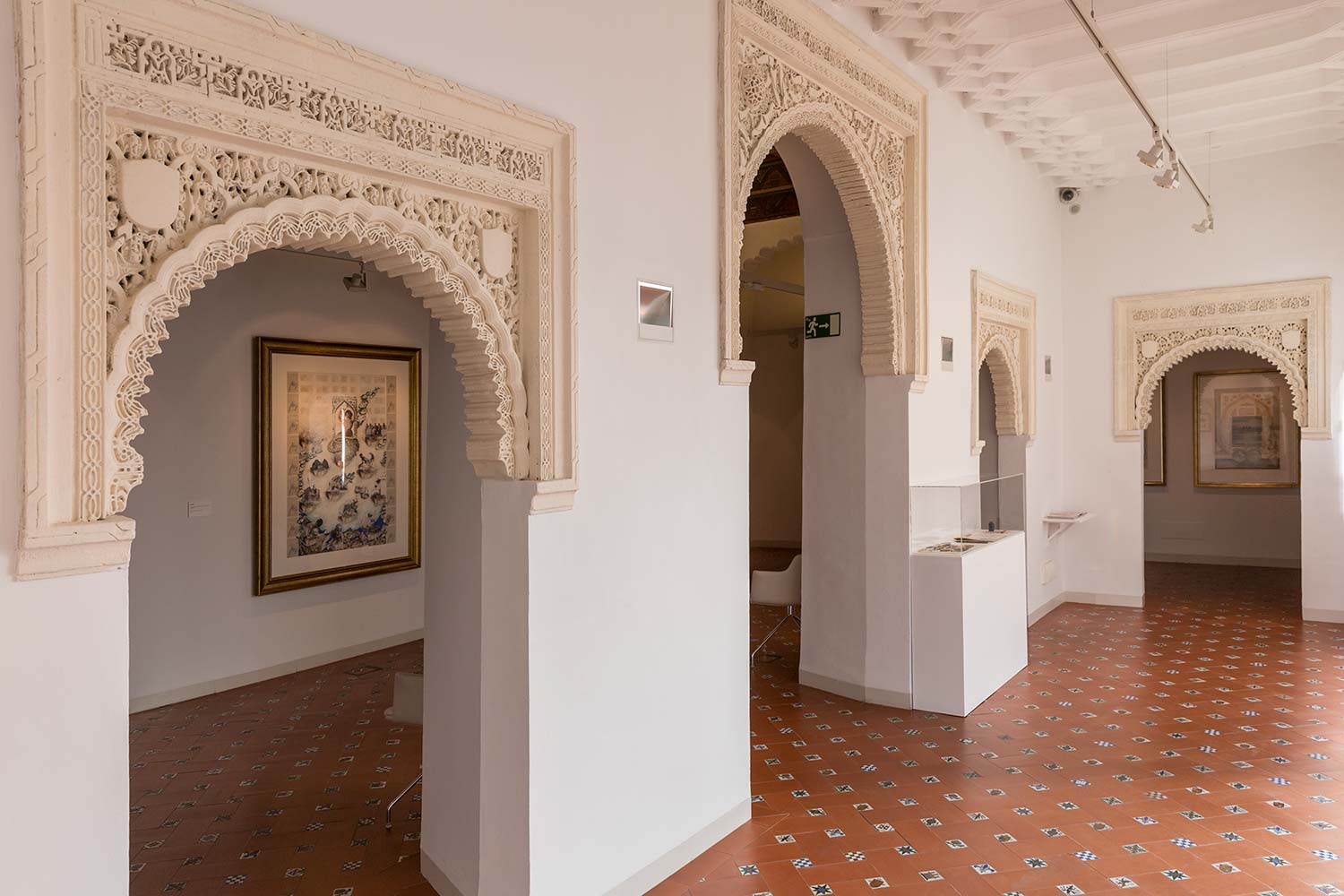 ELISABETH BOLZA Mixed Media Works 10th January - 1st March 2019 Casa Árabe, Cordoba