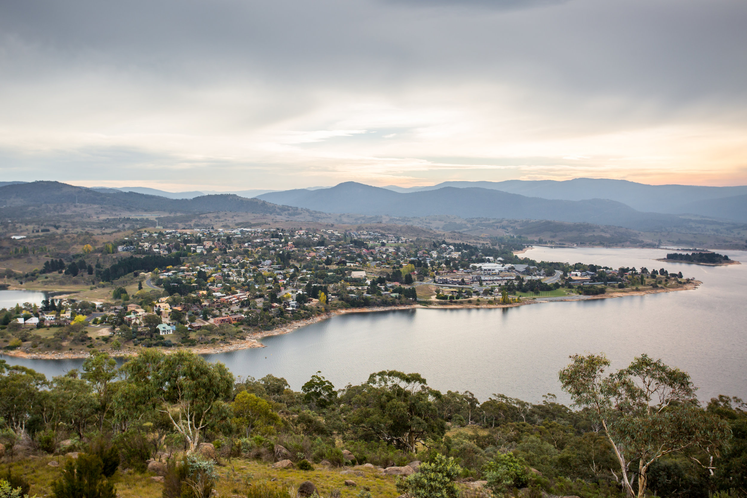 Jindabyne on the foreshore of the lake.jpg