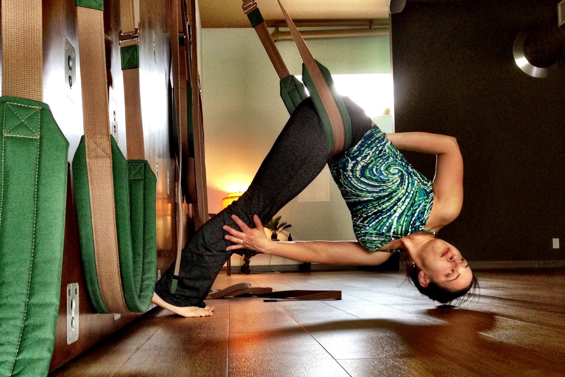 Yoga Wall  Classes at  West End Yoga .