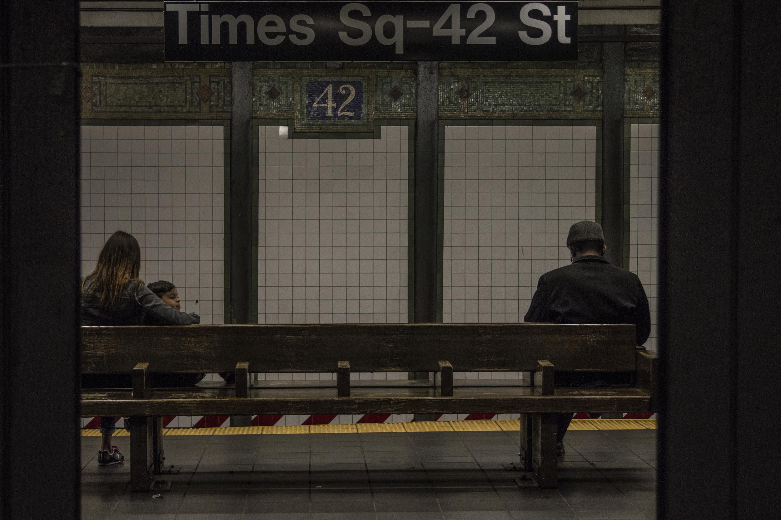 Times Square 42nd Street - N/Q/R
