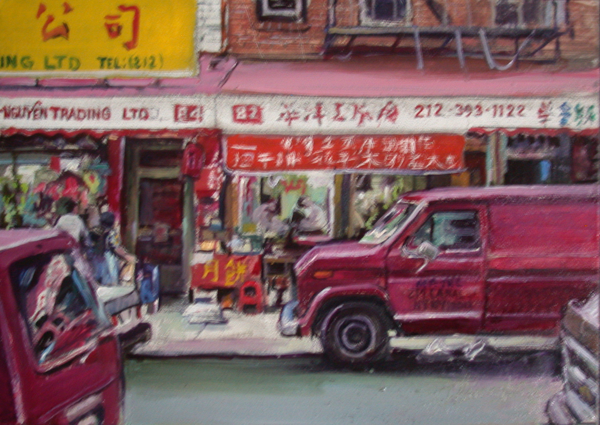 Chinatown red van.jpg