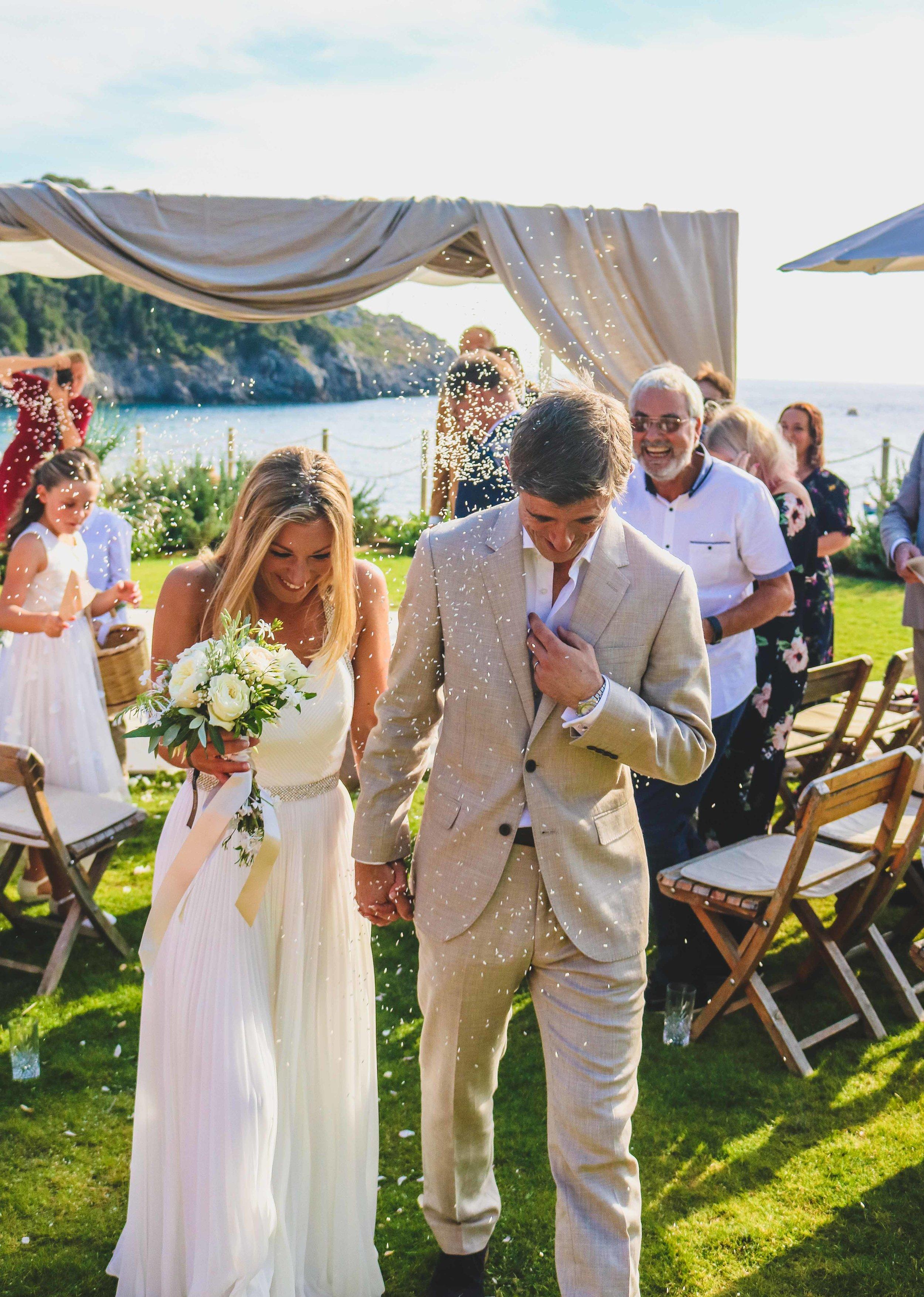 Scott & Annabel Wedding - Paleokastritsa, Corfu, September 2018