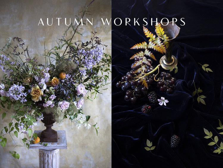 Aesme Flowers   Autumn Flower Arranging Workshops