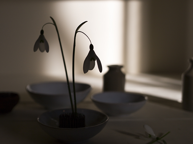 Snowdrop flower arrangements | Aesme Studio London