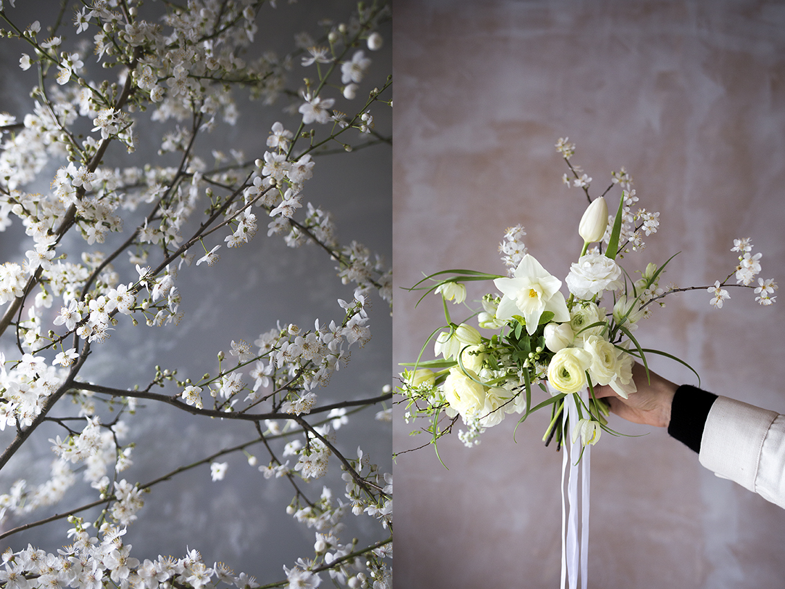 Blossom and spring flower arrangements | Aesme Flower Studio London