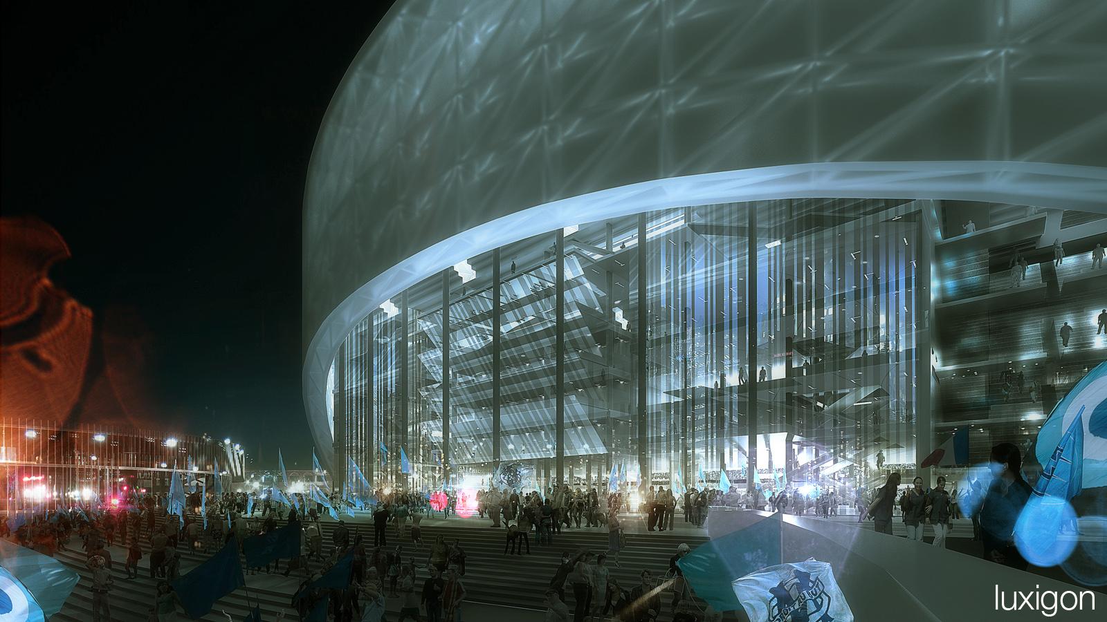 SCAU - Stade Vélodrome - Marseille, FR