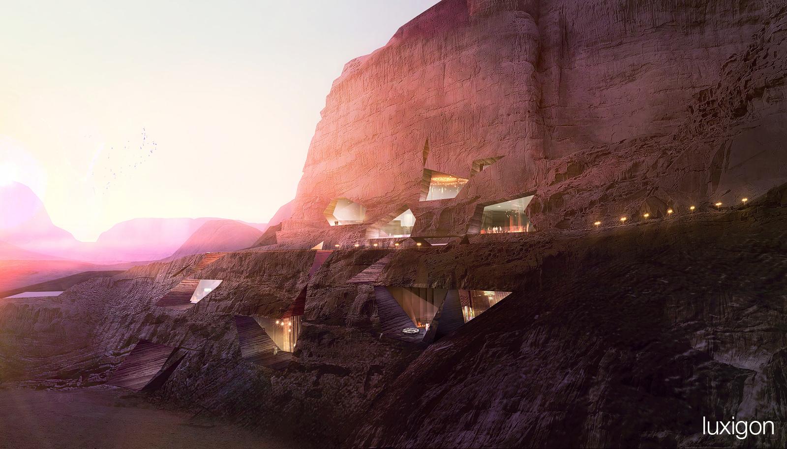 CHAD OPPENHEIM - Desert Lodges - Wadi Rum, JO