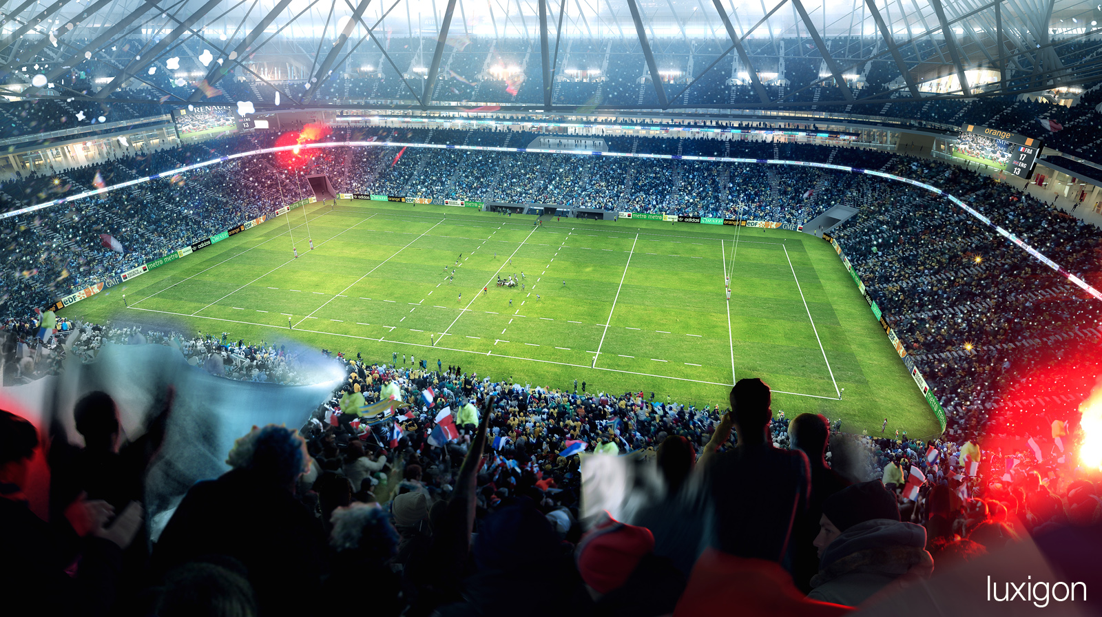 POPULOUS - Grand Stade FFR - Evry, FR