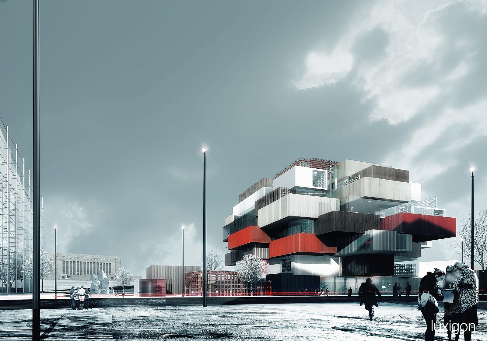 COBE - Central Library - Helsinki, FI
