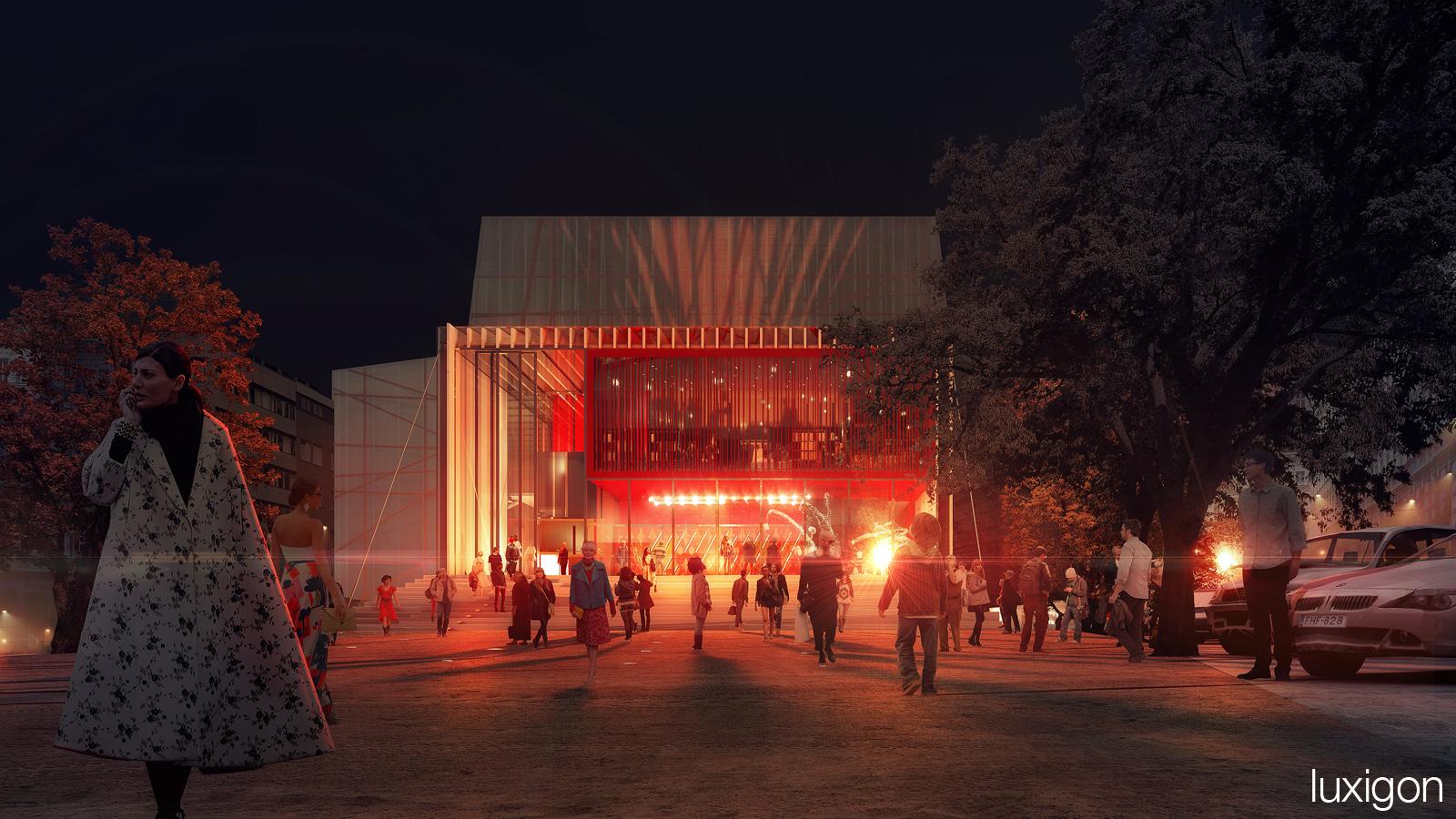 PHILIPPE LANKRY - Pavilion de la Danse - Geneva, CH