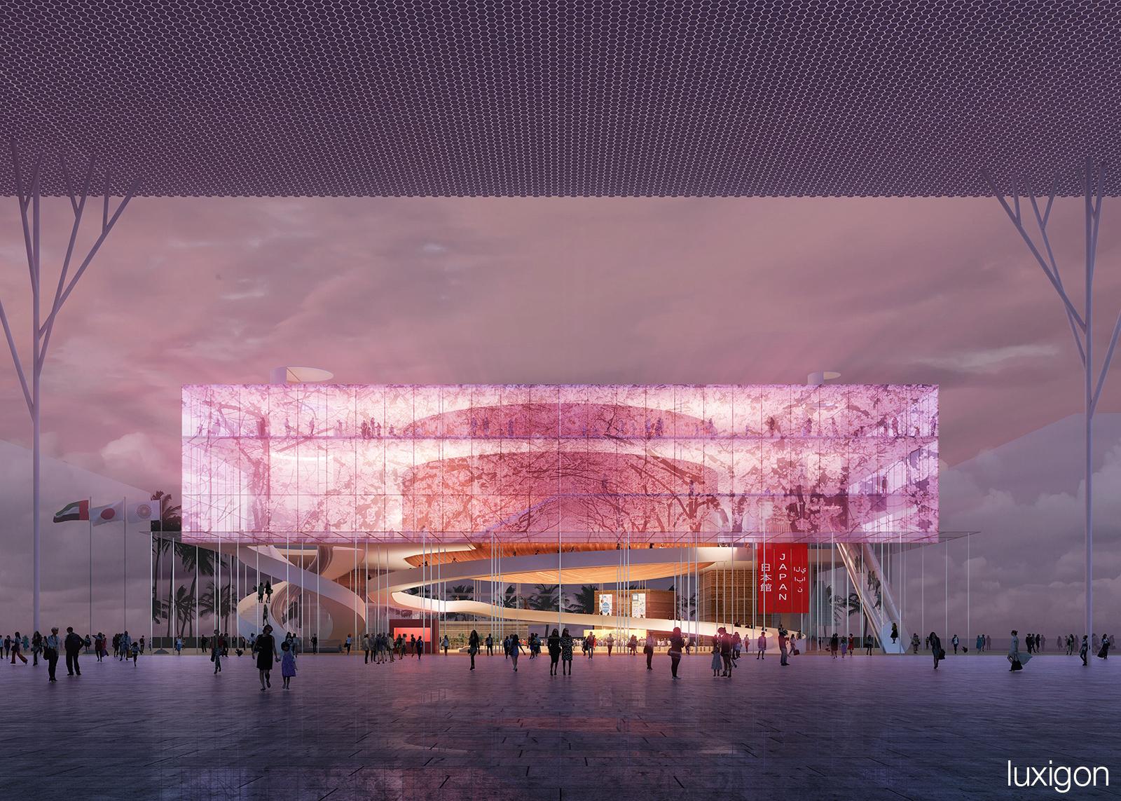 ADK + Mikan + ARIWRKS + ARUP Japan - Japanese Pavilion - Dubai, UAE