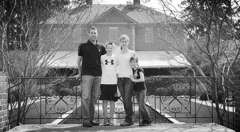 Me and my family in Williamsburg, VA.
