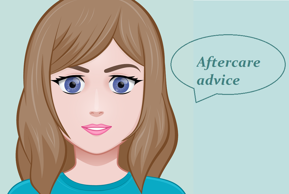 Aftercare advice