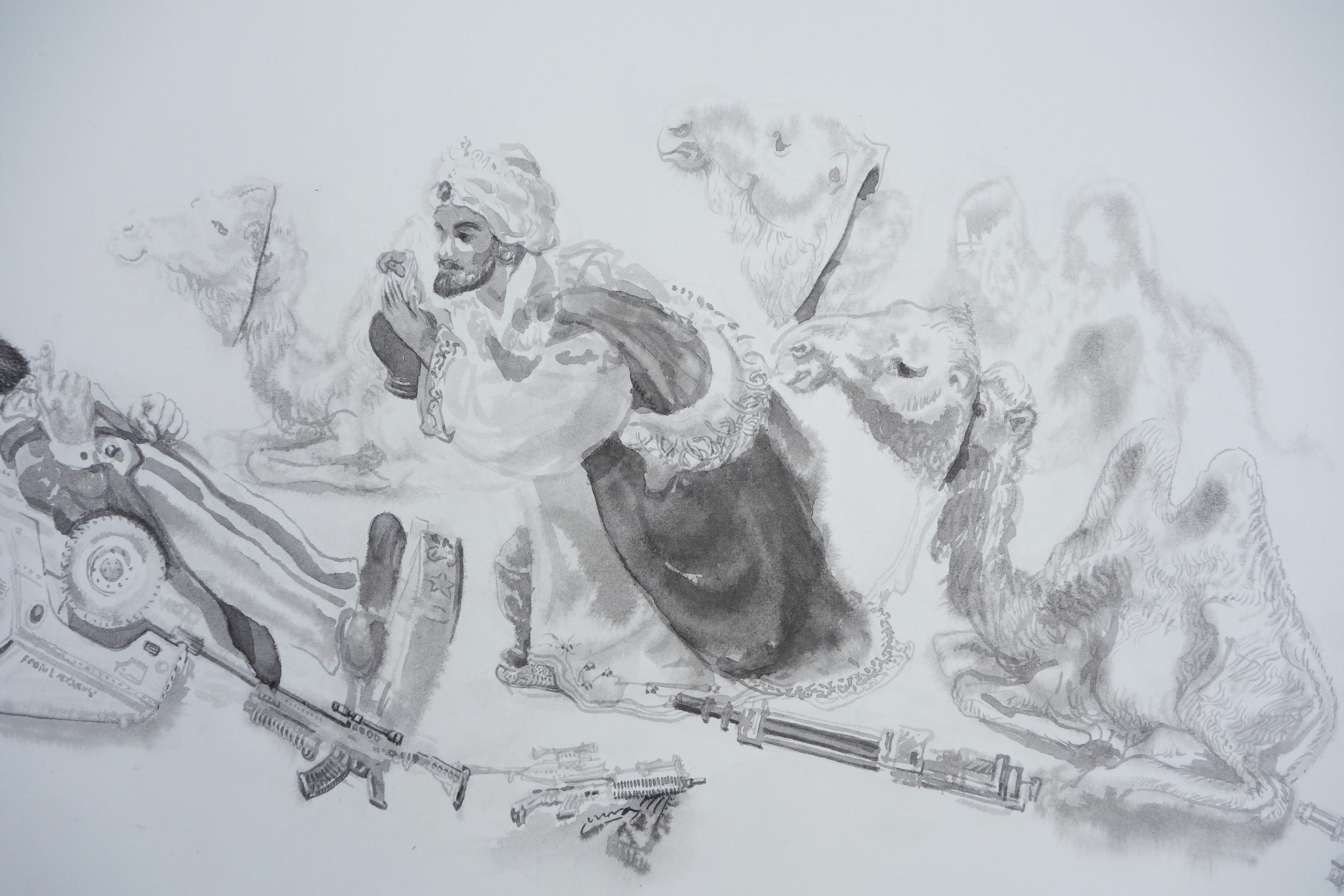 Untitled (Epiphany) detail
