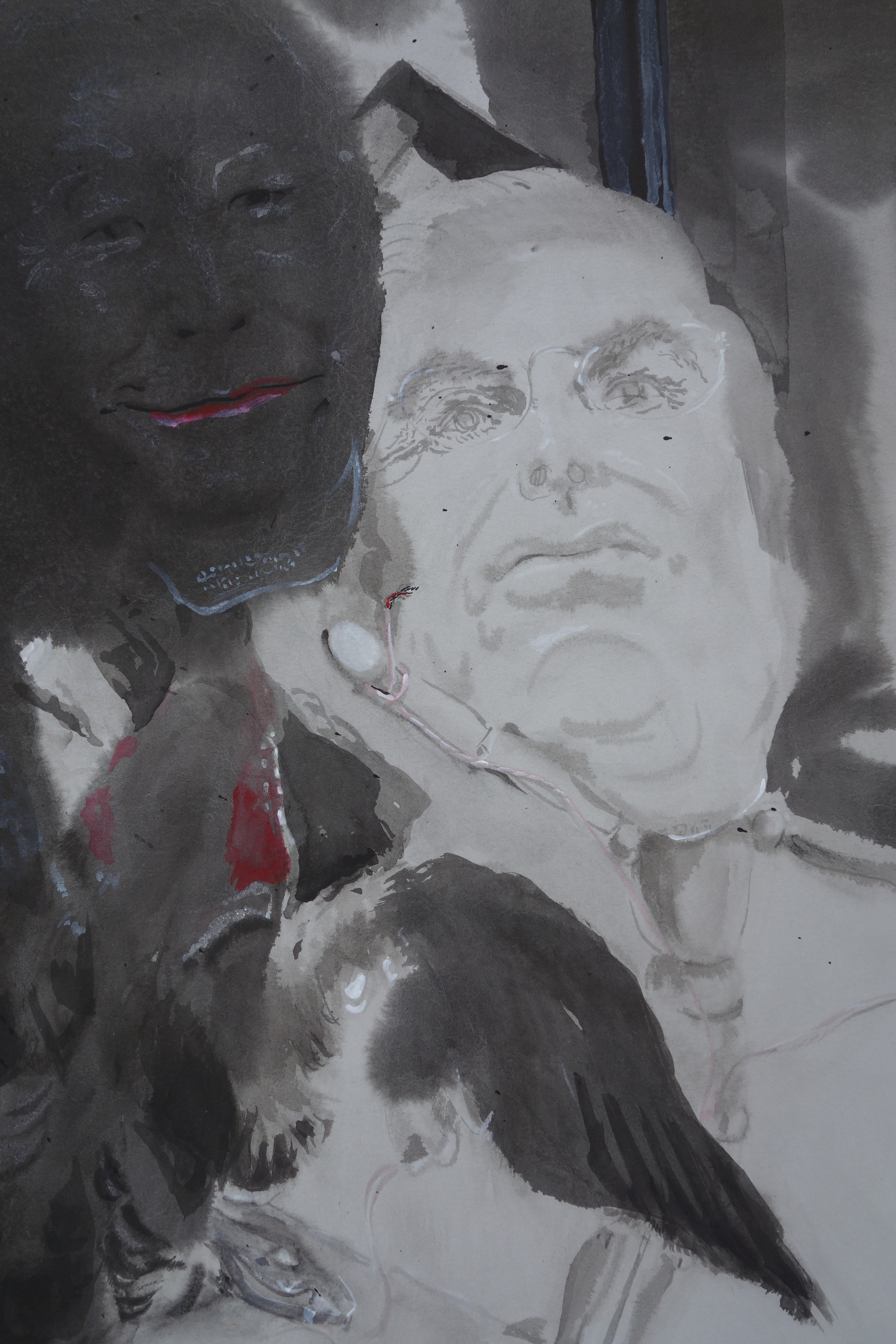 Untitled (Politicos) detail