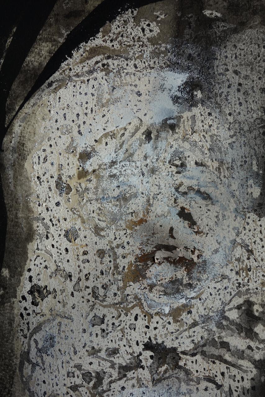 Detail of SARCOPHAGUS (head)