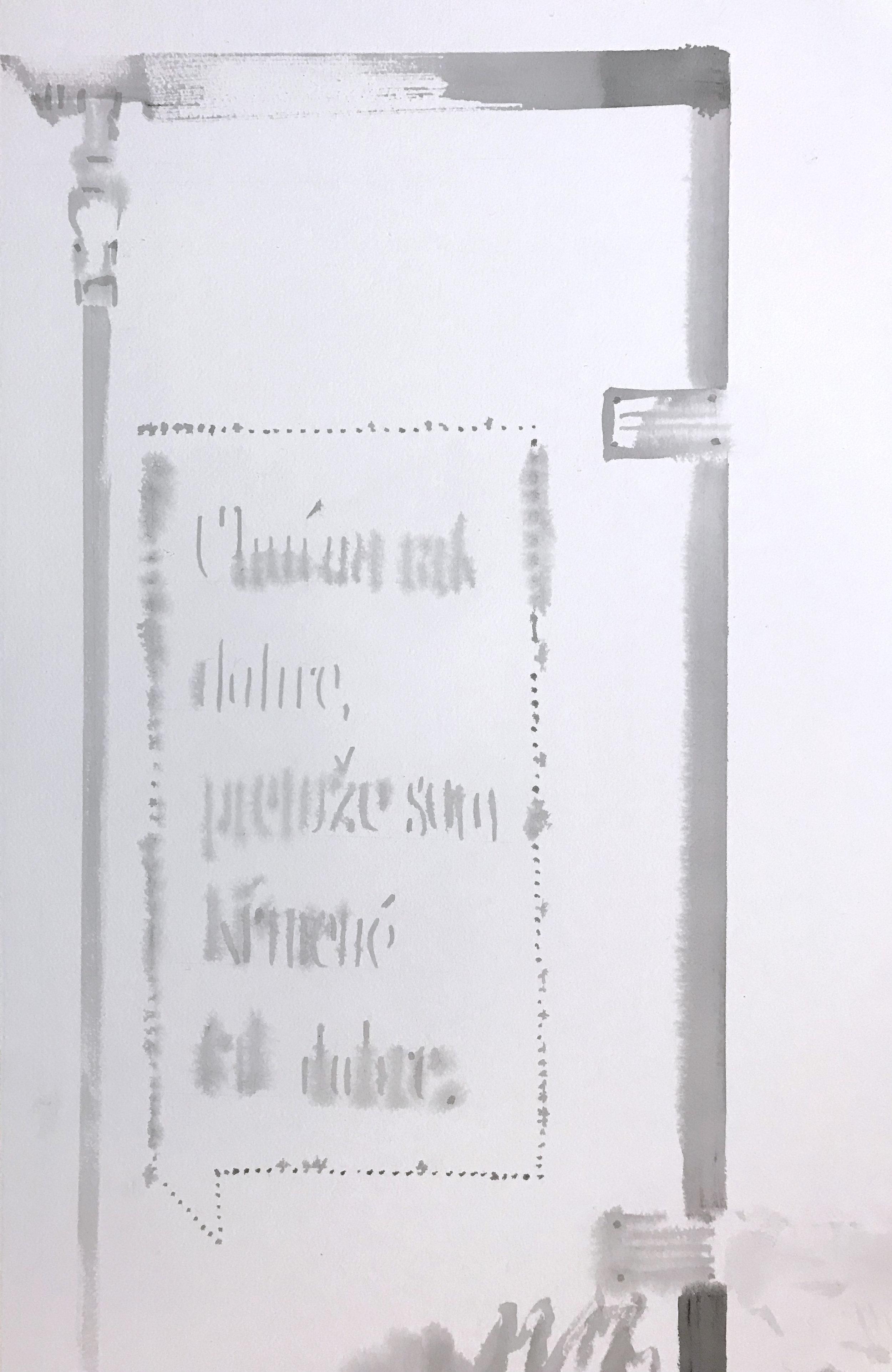 Detail of Fugue (truck door)
