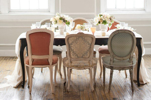 metropolitan-building-mismatch-vintage-chairs-wedding-french-table-runner-soft-feminine