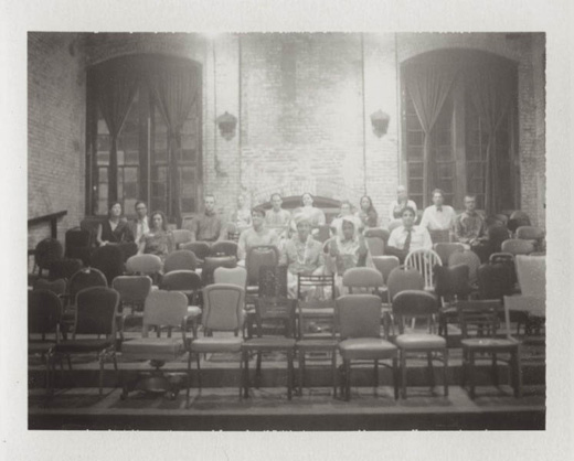 bw-mismatched-chairs-ceremony-vintage