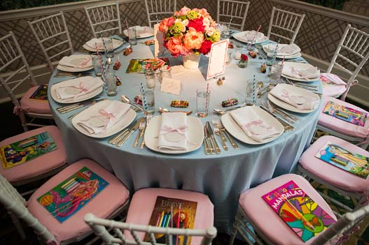 pink-blue-kids-table-crayons-coloring-books-wedding