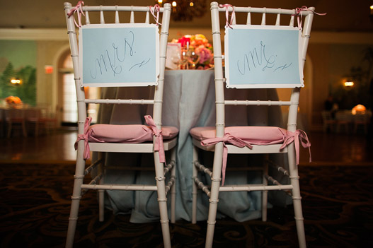 mr-mrs-signs-wedding-pink-blue-calligraphy