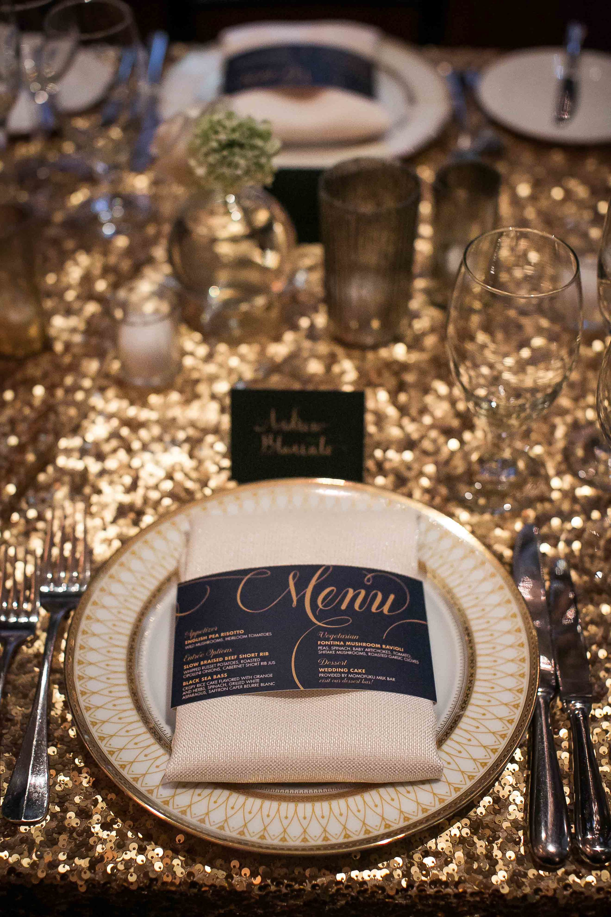 gold-sequin-tablecloth-wedding-glamorous
