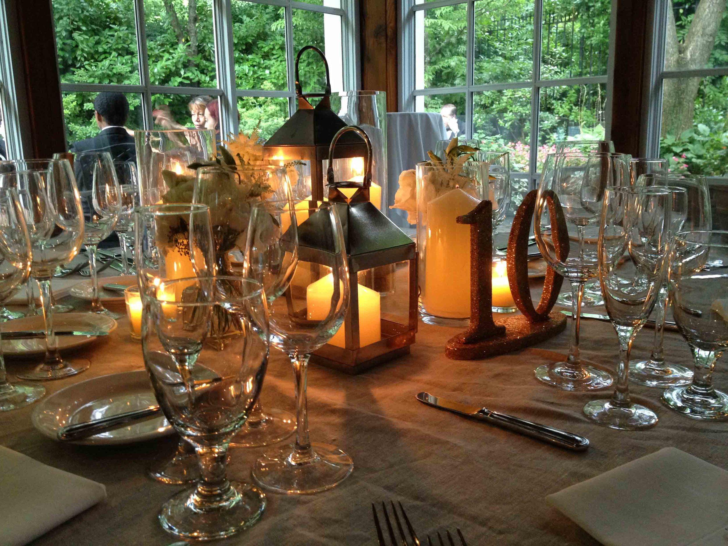 central-park-boathouse-wedding-lantern-centerpiece
