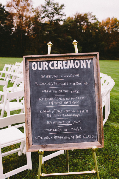 chalk-sign-wedding-program