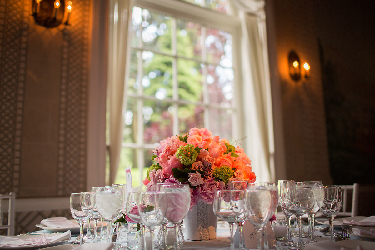 new-york-botanical-garden-wedding-pink-centerpieces