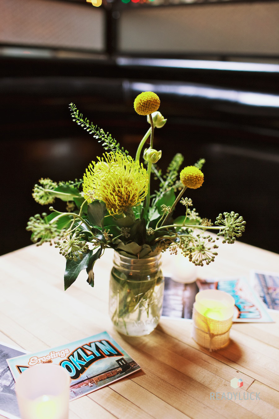 pin-cushion-protea-centerpiece-yellow