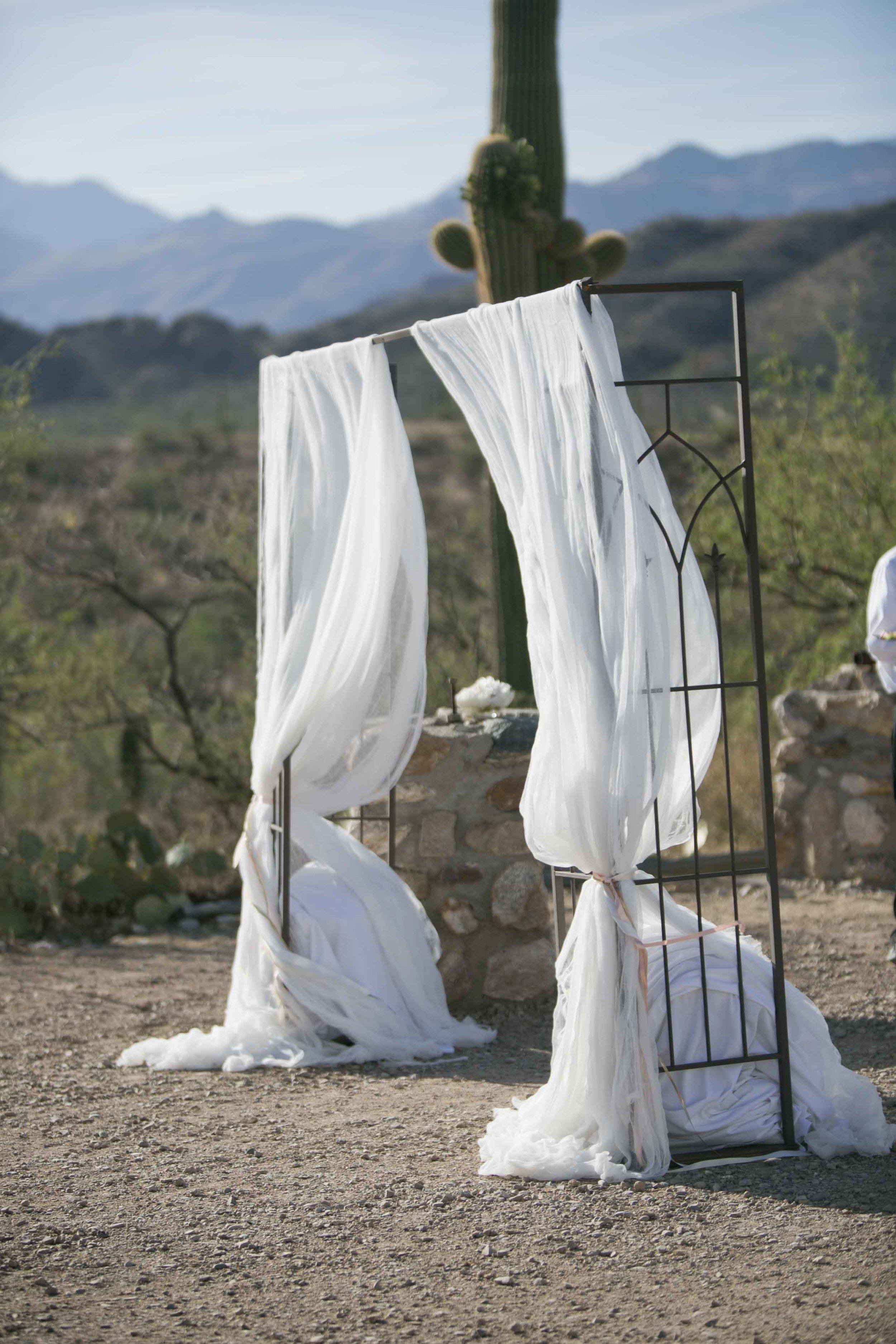 white-draping-desert-wedding
