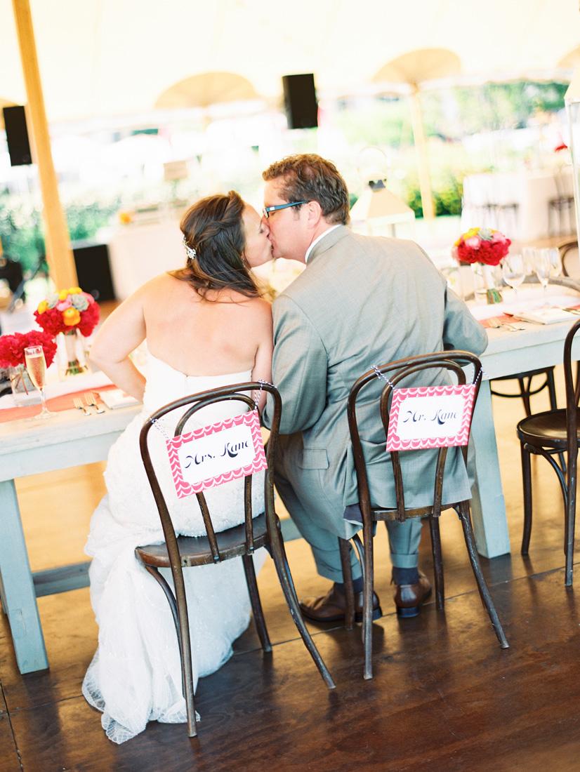bride-groom-sign-kissing-wedding