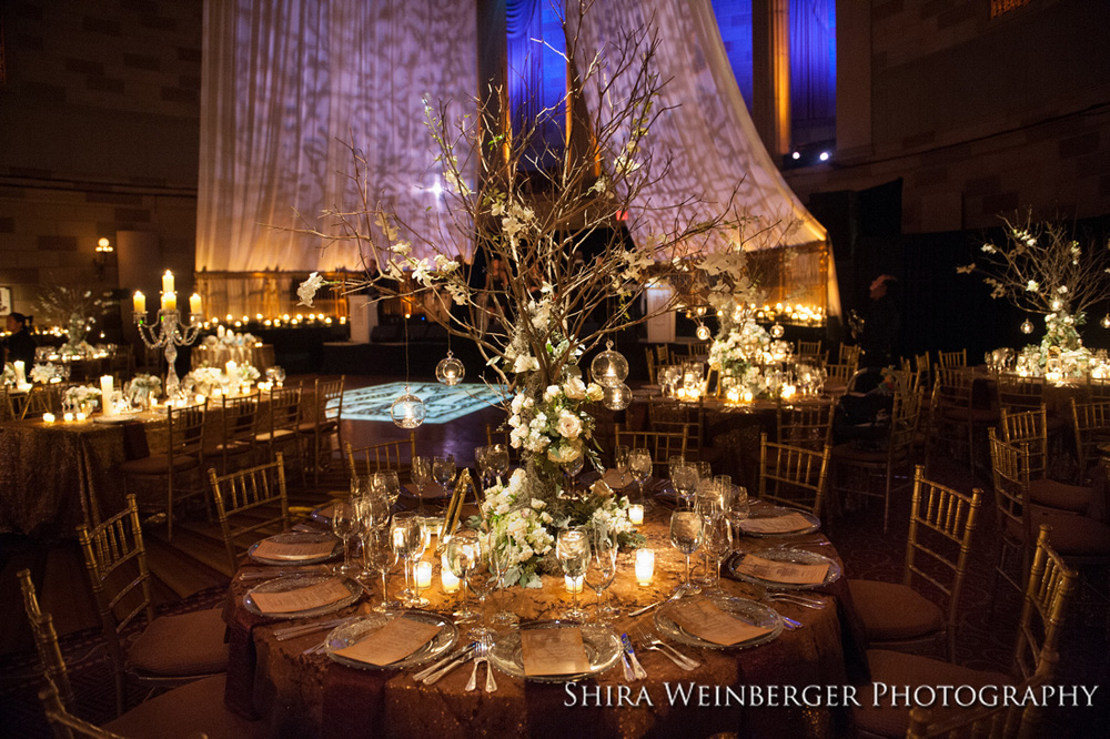 gotham-hall-wedding-branches-centerpiece-tree-draping-enchanted-lots-candles