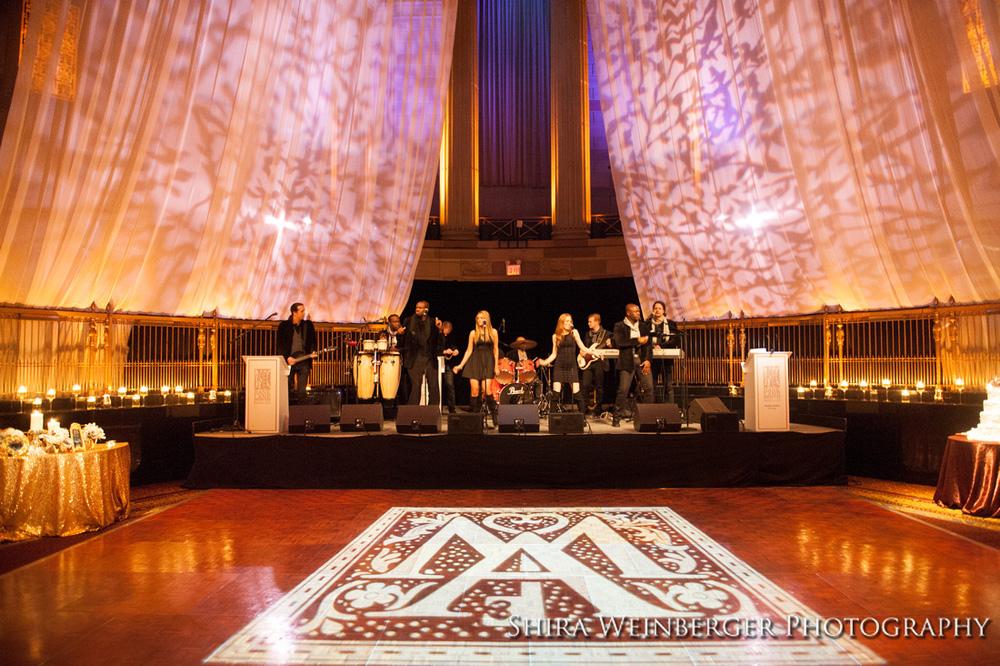 gotham-hall-wedding-custom-monogram-lighting-draping-bently-meeker