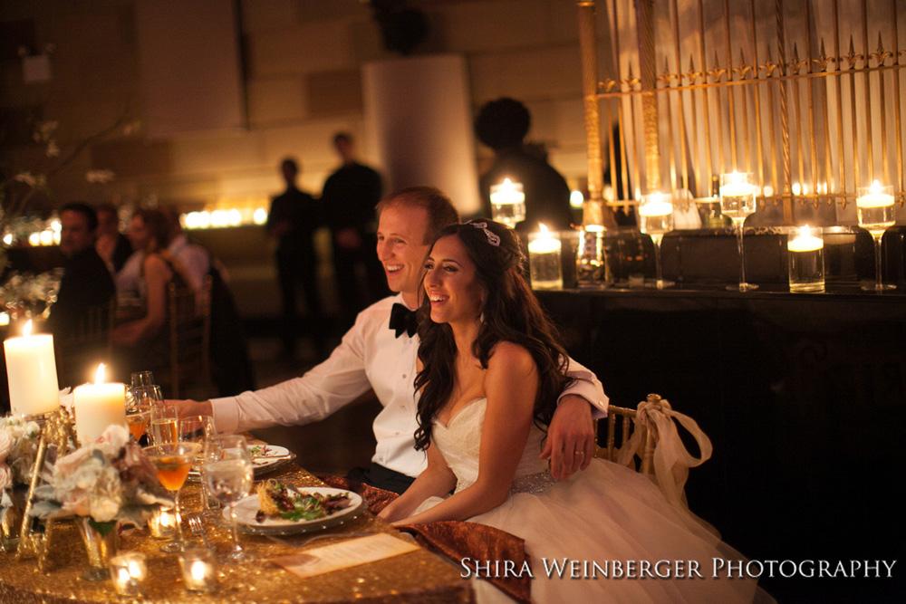 bride-groom-gotham-hall-wedding-lots-candles
